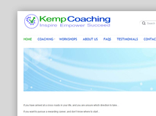 Kemp Coaching Logo Design