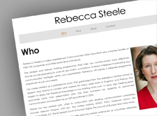 Rebecca Steele Communication Consultant